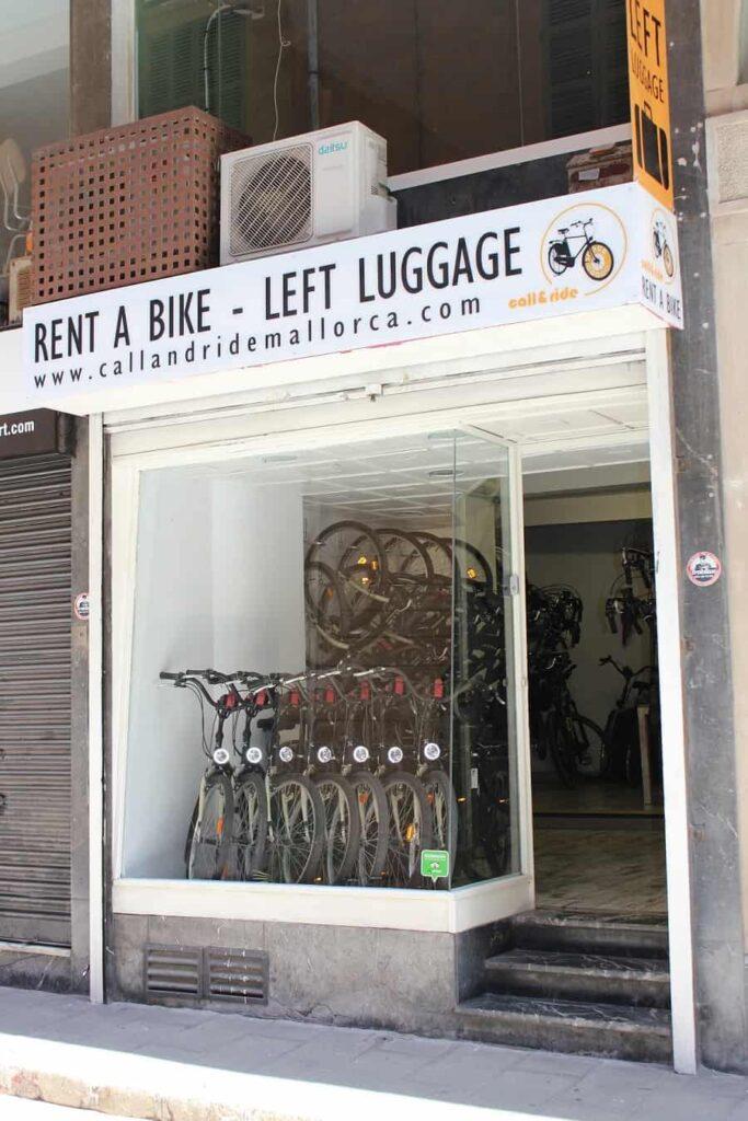 Left luggage Palma de Mallorca